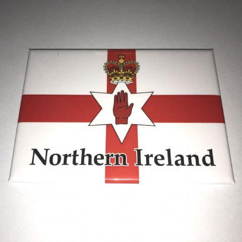 Northern Ireland Flag magnet - Red hand of Ulster